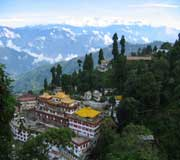 Monastery at Darjeeling