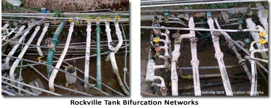 Rockville Tank Bifurcation Network