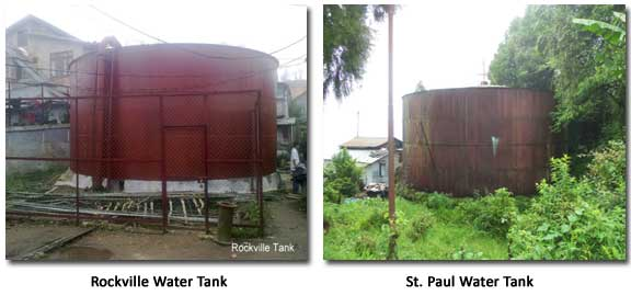 Rockville and St. Paul Water Tanks